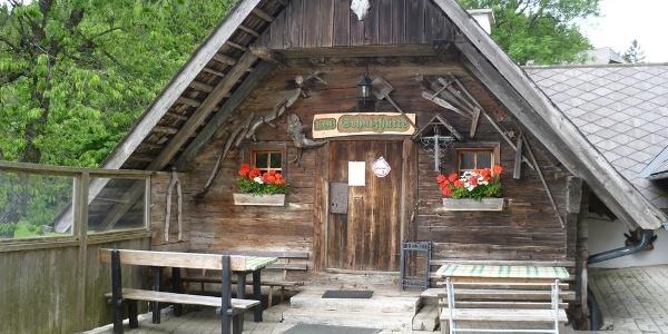 Schutzhütte Eibisberg, St. Kathrein am Offenegg, Hausansicht