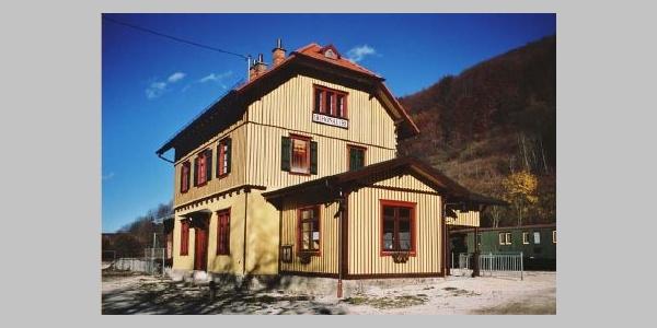 Bahnhof Lichtenstein Honau