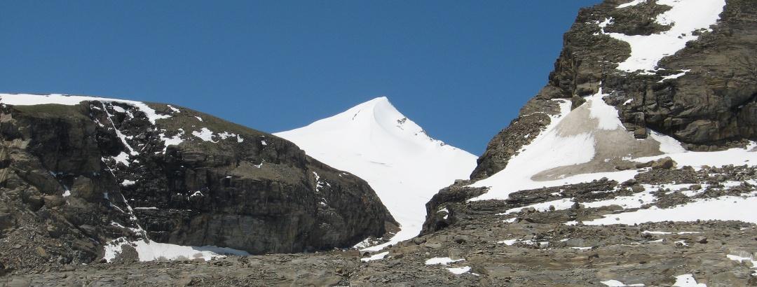 Wunderschön der Johannisberg kurz vor der Oberwalderhütte aufgenommen.