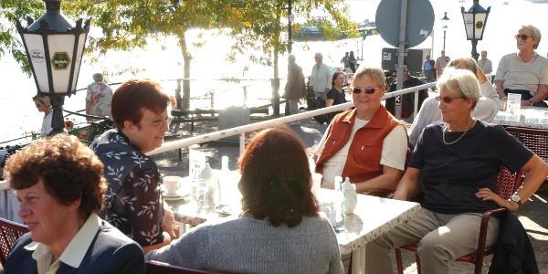 Gastronomie an der Rheinpromenade