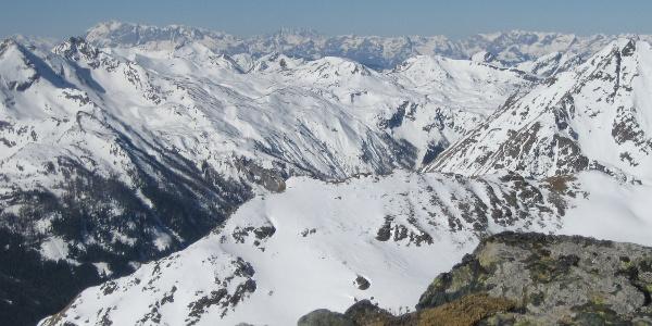 Grandioser Ausblick vom Gipfel