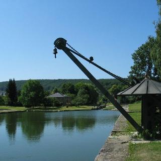 Alter Hafen in Kelheim - heute ein Industriedenkmal im Altmühltal