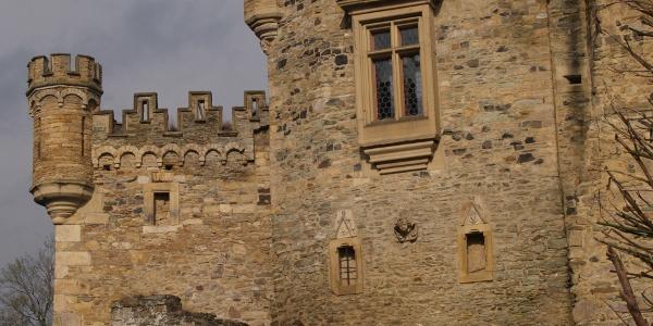 Äußeres Burgtor von Schloss Dhaun