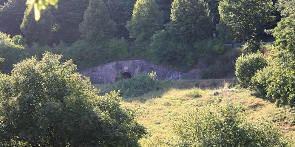 Blick zum Tränkenbrunnen