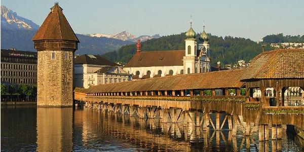 Die Kapellbrücke in Luzern