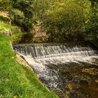 L'ancien canal d'Entreroches