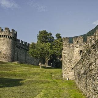 Burg in Bellinzona
