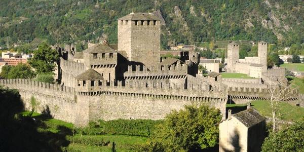 Château à Bellinzone