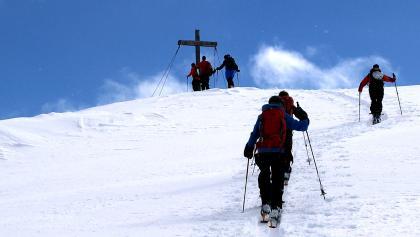 Unser wunderbares Tagesziel, Hennekopf, 2704m, wird erreicht!