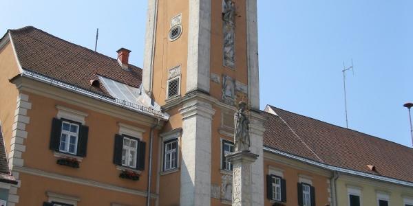 Das Rathaus in Mureck