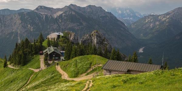 Hüttenwanderung - Ammergauer Höhenweg (2.Etappe von 4)