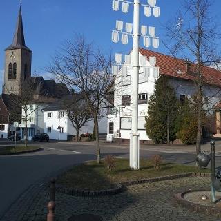 Dorfmitte Clausen - Foto: TI Gräfensteiner Land