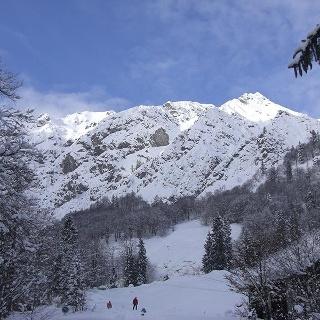Griesner Alm Winterlandschaft