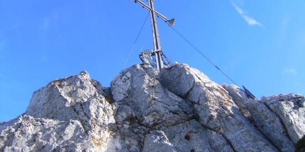 Gipfelkreuz der Kampenwand