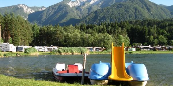 Badevergnügen am Birkdorfer See