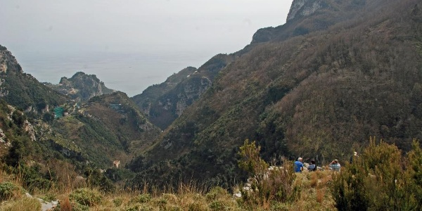 Die Felsenküste von Amalfi