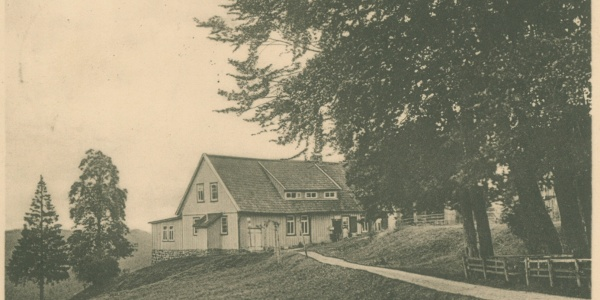 Polsterberger Hubhaus um 1930