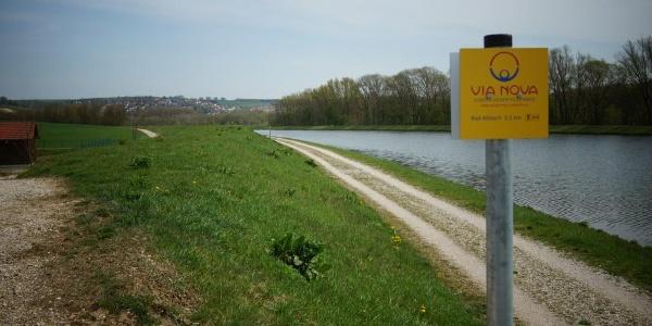 Pilgerweg Via Nova bei Bad Abbach