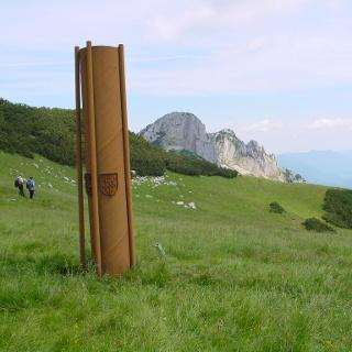 Skulptur am Tanzboden