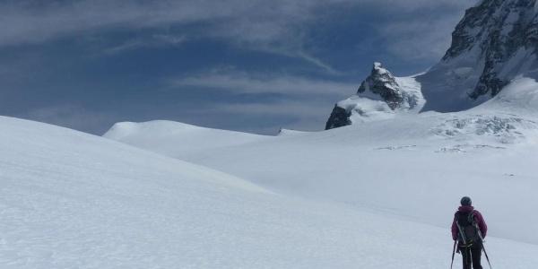 Großes Fillarhorn links und Jägerhorn rechts