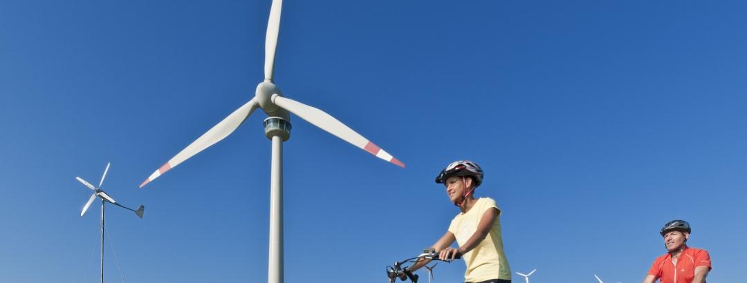 Windrad mit Aussichtsplattform Lichtenegg
