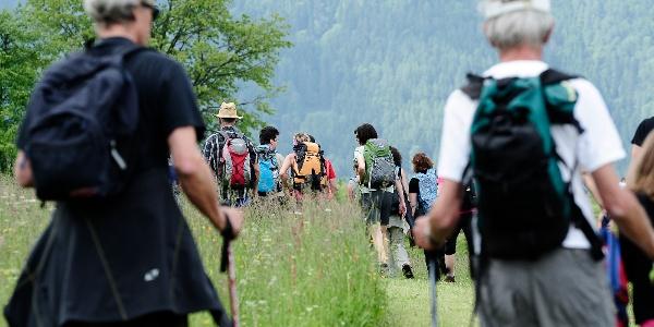 Musikalische Wanderung bei den Wanderbaren Gipfelklaengen