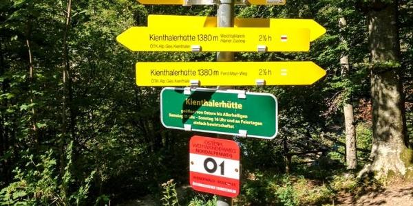 Auf die Kienthalerhütte: wahlweise Kraxeln oder Wandern
