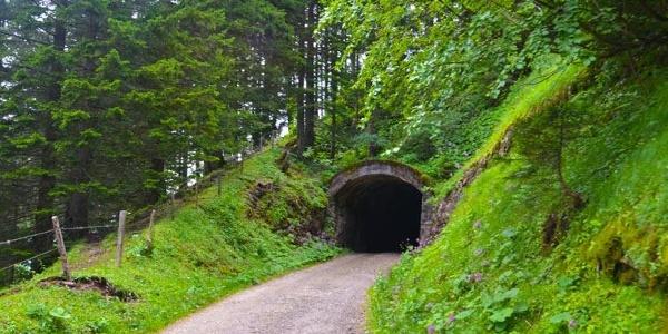 Tunnel am Dossen.