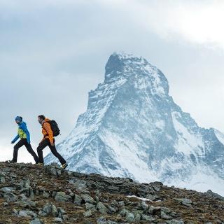 Hut trekking in the middle of Zermatt's mountain world