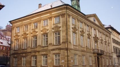 Neues Rathaus in Esslingen, ehemaliges Palm'sches Palais