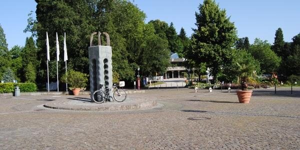 Schlossplatz Start der Tour