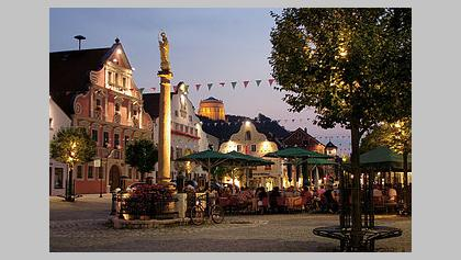 Ludwigsplatz in Kelheim