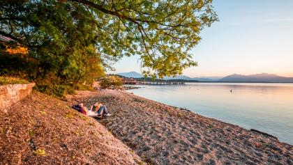Strand am Chiemsee