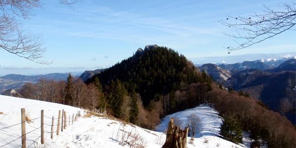 Pfaffenmauer 1218m beim Rückweg