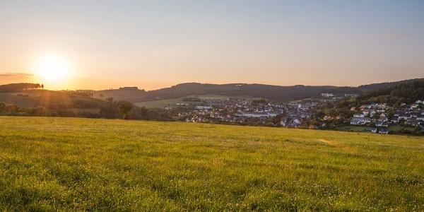 Blick auf Bad Fredeburg