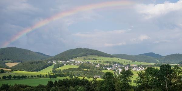 Blick auf Holthausen
