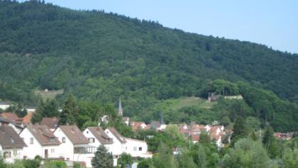 Blick auf Wolfstein und Ruine Neuwolfstein
