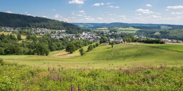 Blick über Bad Fredeburg