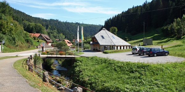 Waldkulturhaus in Holzwald