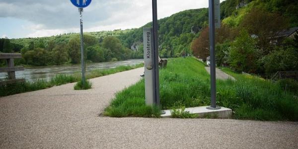 DonauPforte beim Eingang in die Weltenburger Enge