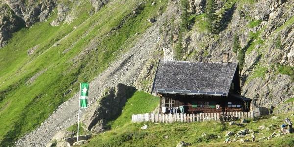 Anton-Renk-Hütte - von weiter oben