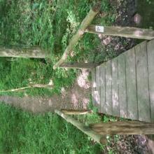 Über die Brücke und dann links...