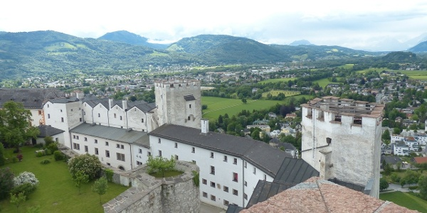 Salzburgs Wahrzeichen auf dem Festungsberg