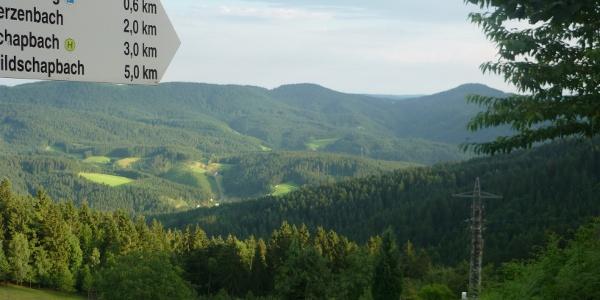 Blick von der Otmarhütte