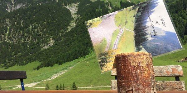Terrassenaussicht von Bernhard's Gemstelalpe