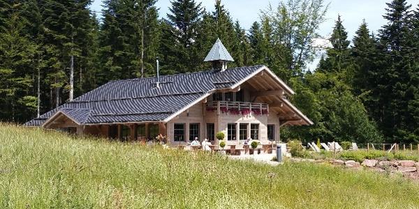 Die Berghütte Lauterbad in herrlicher Panoramalage