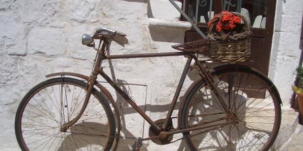 Fahrrad in Ostuni