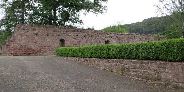 Gemäuer der Schlossruine