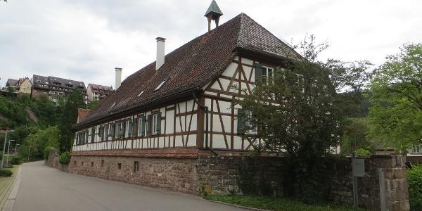 Das ehemalige Kloster Reuthin