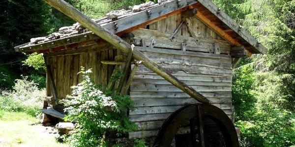 Mühle am Eingang zu Getrum